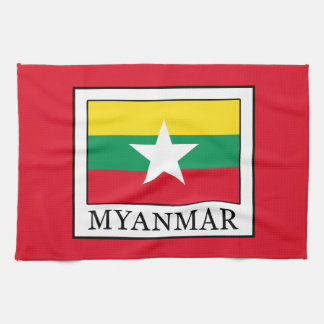 Myanmar Tea Towel