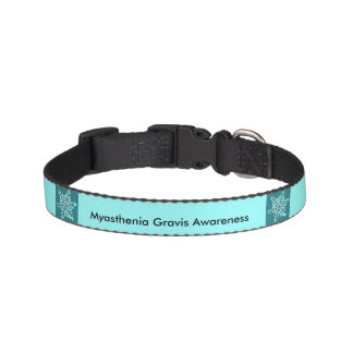 Myasthenia Gravis Awareness Sm Dog Collar