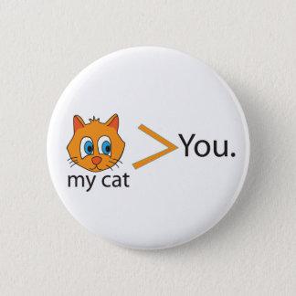 Mycatmorethanyou 6 Cm Round Badge
