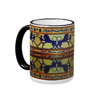 Mycenaean Lion Hunt Mug