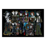 Myka Jelina Gothic Steampunk Tribal Circus Fairies Posters