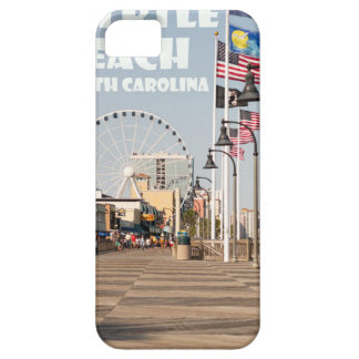Myrtle Beach Boardwalk South Carolina Vacation WHT iPhone 5 Cover