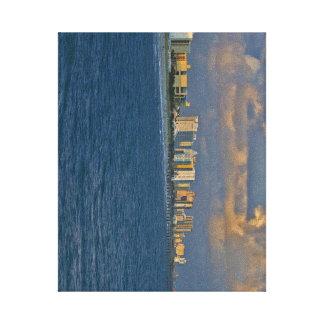 Myrtle Beach pier view Canvas print