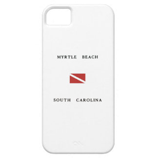 Myrtle Beach South Carolina Scuba Dive Flag Case For The iPhone 5