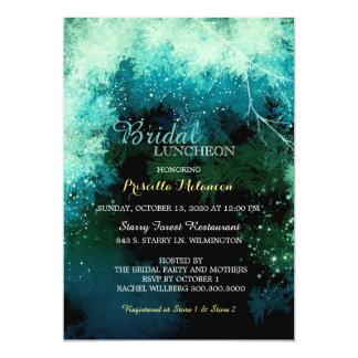Mystic Forest Bridal Shower Luncheon 13 Cm X 18 Cm Invitation Card