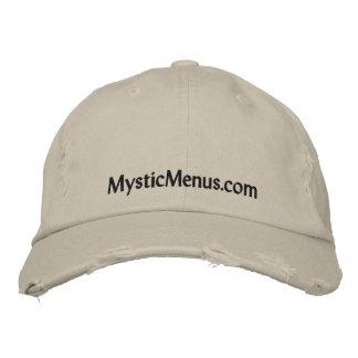 Mystic Menus Cap Embroidered Hat