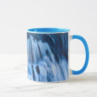 Mystical Blue Waterfall