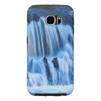 Mystical Blue Waterfall Samsung Galaxy S6 Cases