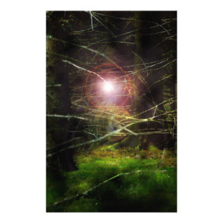 Mystical Forest Customized Stationery