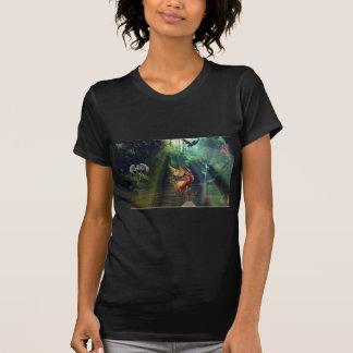 Mystical Forest Waterfall Tshirts