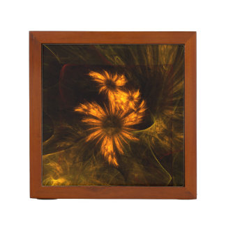 Mystique Garden Abstract Art Desk Organiser