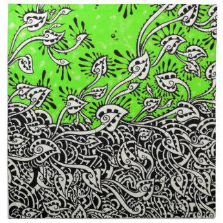 mzobcn napkins graffiti Design