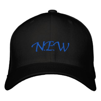 >< N.E.W >< EMBROIDERED HAT