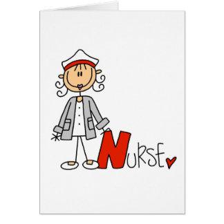 N is for Nurse Card