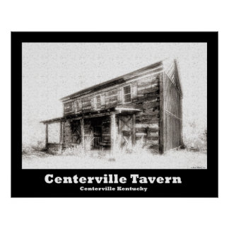 NA120.Centerville Tavern Poster