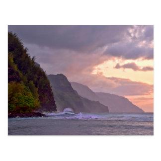 Na Pali Coast Kauai, Hawaii Postcard