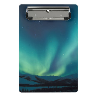 NA, USA, Alaska, Brooks Range, Curtains of green Mini Clipboard