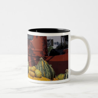 NA, USA, New Mexico, Taos. Chile stand. Two-Tone Coffee Mug