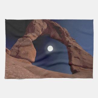 NA, USA, Utah, Arches National Park. Delicate Tea Towel