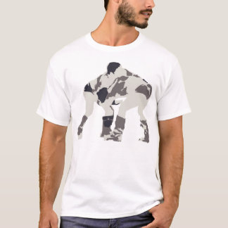 Nadaam festival wrestlers T-Shirt