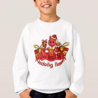 Nadolig llawe Christmas Long Sleve T Sweatshirt