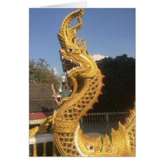 Naga in Chiang Mai, Thailand Card