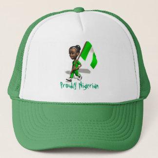 naijaGurl 2, Proudly Nigerian Trucker Hat
