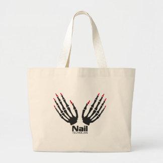 Nail technician large tote bag
