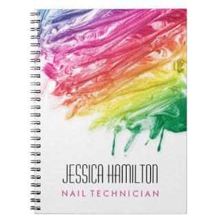 Nail Technician Notebook