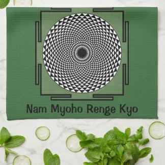 Nam Myoho Renge Kyo chant Tea Towel
