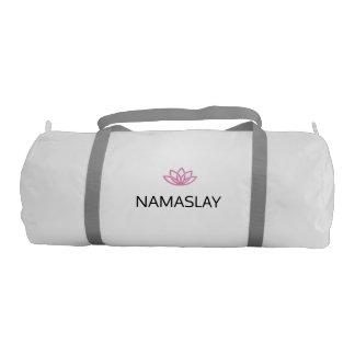 NAMASLAY #KILLINIT Yoga Gym Bag Gym Duffel Bag