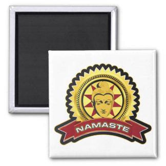 Namaste Buddha Logo Refrigerator Magnets