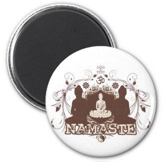 Namaste Buddha Fridge Magnet
