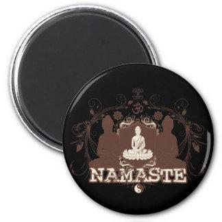 Namaste Buddha Magnets