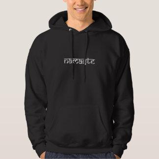 Namaste Design on Sanskrit Style Hoodie