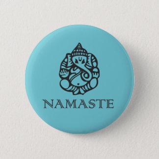 Namaste Ganesh Badge