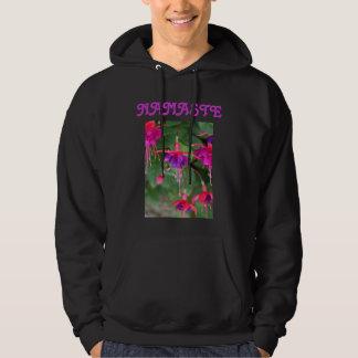 NAMASTE mens hoodie