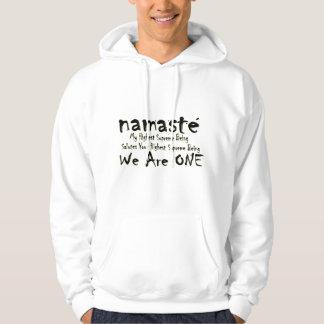 NAMASTE WE ARE ONE HOODIE