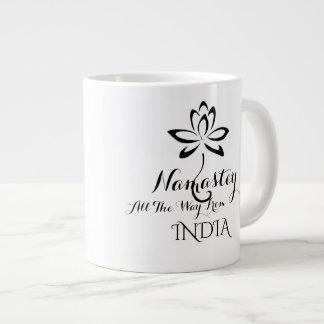 Namastey Typography Coffee Mug