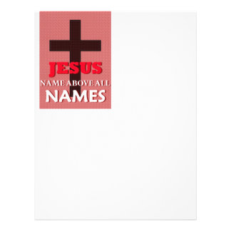 Name Above All Names 21.5 Cm X 28 Cm Flyer