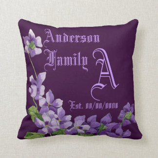 Name family cushion