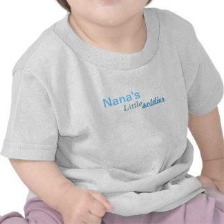 Nana's little soldier tshirts
