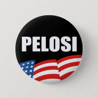 NANCY PELOSI Election Gear 6 Cm Round Badge
