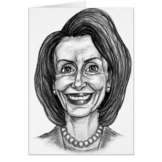 Nancy Pelosi Fan Club Card