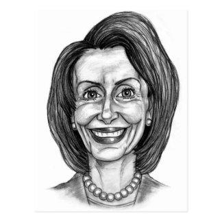 Nancy Pelosi Fan Club Postcard