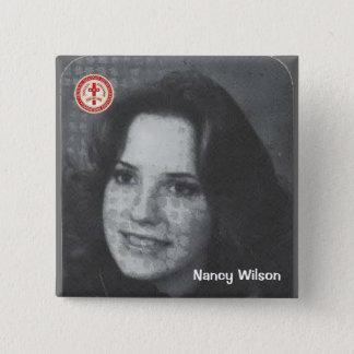 Nancy Wilson 15 Cm Square Badge