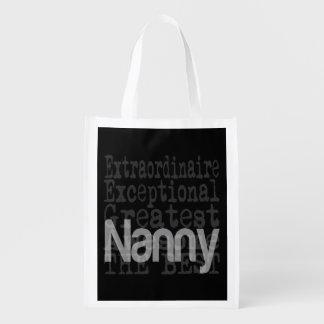 Nanny Extraordinaire Reusable Grocery Bag