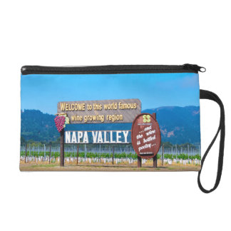 Napa Valley Wine Country Wristlet Clutches