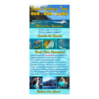 Napali Seabreeze Tours Rack Card