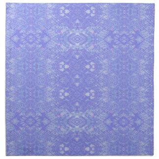 Napkin - Decorative blue wallpaper style pattern